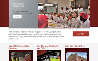 National Food Institute Website