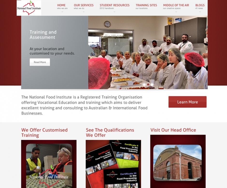 National Food Institute Website
