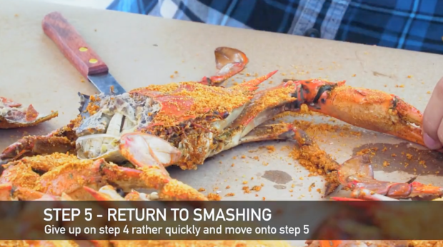 How Not to pick a Crab